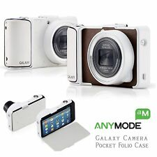 Anymode for SAMSUNG Galaxy Camera EK-GC100 Pocket Folio Cases -Brown Color