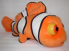NEMO PLUSH NITE BRITE EYES PLUSH LIGHT UP FISH SOFT CARTOON PLAY TOY