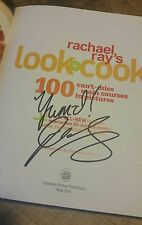 SIGNED!  Rachael Ray's Look + Cook:100 Can't Miss Main Courses