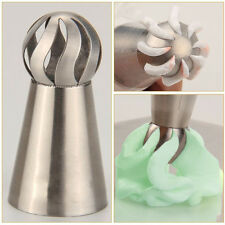 Russian Icing Piping Nozzles Tips Ball Design Cake Baking Decor Stainless Steel