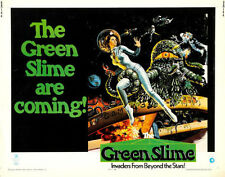 """The Green Slime Movie Poster Replica Print 14 x 11"""""""