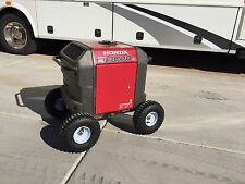 AIR TIRES -ALL TERRAIN Wheel Kit For Honda EU3000IS Generator- BIG 10 IN TIRES