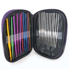 22pcs/Set Multicolour Aluminum Crochet Hook Knitting Needle Weave Craft Yarn New