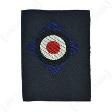 Kriegsmarine Bevo Cap Cockade - WW2 Repro Silk Navy Blue Badge Patch Hat German