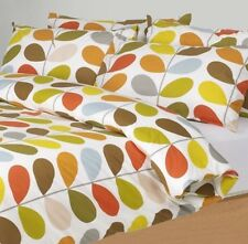 Orla Kiely SuperKing Duvet Cover Multi Stem + Pillowcases Super King Bedding Set