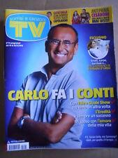 TV Sorrisi e Canzoni n°21 2012  Carlo COnti Barbara D'Urso Lucio Dalla [D52]