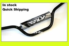 ltz 400 handlebar suzuki ltz 400 z400 fly handlebar fly racing handle bar black