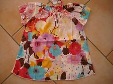 (140) Nolita Pocket Girls Shirt Tunika in A-Form mit Logo Glitzer Druck gr.104