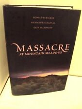 Massacre at Mountain Meadows by Walker, Turley, and Leonard (LDS, MORMON BOOKS)