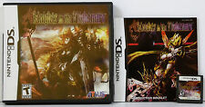 KNIGHTS IN THE NIGHTMARE (2009) NINTENDO DS NDS GAME **COMPLETE**