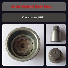 Genuine Audi Locking Wheel Bolt / Nut Key 815 17 Hex