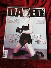 Madonna DAZED British RARE COVER Hard Candy Exlusive Photos Promo Magazine