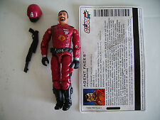 "Agent Faces V2 GI Joe Complete 3 3/4"" Figure 2003 Series 19 Cobra Crimson Guard"