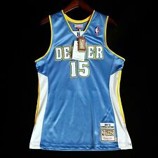 100% Authentic Mitchell & Ness Carmelo Anthony Nuggets NBA Jersey Size 40 M