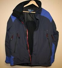 Mens Polo by Ralph Lauren Ski Snowboard Blue RL Winter Jacket Medium M Insulated