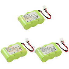 3 New Home Phone Battery 300mAh NiCd for Vtech BT-17333 BT-27333 CS2111 01839