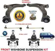 VW MULTIVAN 2003  ON 2X WISHBONE ARMS 2x LINK BARS 2x BALLJOINT SUSPENSION KIT