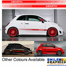Fiat 500 Abarth Stripes Any Colour - Please Ask