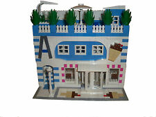 LEGO Custom Ice Cream Shop Modular Building Instructions ONLY