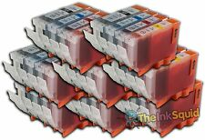 32 Canon PGI-5 CLI-8 Compatible Ink Cartridges PGI-5Bk
