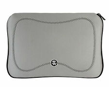 "Crumpler Gimp 17"" Laptop Neoprene Sleeve In Silver Fits 15.6"" and 17"" New In UK"