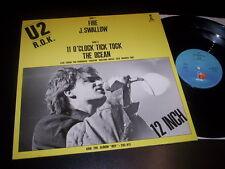 """U2 """"R.O.K."""" 12"""" Island Records – 600.417 Benelux 1981"""