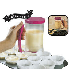 Cupcake Pancake Batter Dispenser Waffles Pastry Jug Baking Maker Gadget Tools
