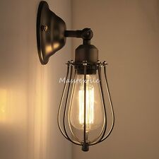 Retro  Wandleuchte Antik Stil Eisen Kunst Wandlampe E27 Lampe Vintage Industrial