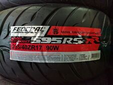 2 new 235 40 17 Federal 595 RS-RR 235/40/17 rsrr