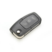 Flip Remote 3 Button Key Shell Case fit for FORD Focus Fiesta Replacement CBD68