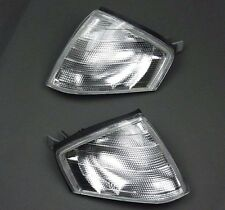 MERCEDES SL CLASS (R129) 1989-2001 CLEAR FRONT INDICATOR LIGHT LAMP SET PAIR L+R