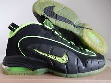 "NIKE AIR PENNY 05 HOH ""HOUSE OF HOOPS"" BLACK HIGHLIGHTER PACK SZ 12 [438793-033]"