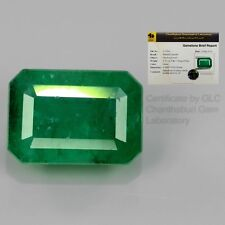 2.30ct 9x6.5mm Octagon Natural Green Emerald, Colombia *Free GLC Certified
