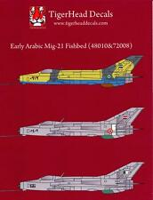 Tigerhead Decals 1/72 MIKOYAN MiG-21 FISHBED Egypt & Iraq