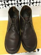 Duluth Trading Company Womens Andina Brown Leather Ankle Boots Size 13W