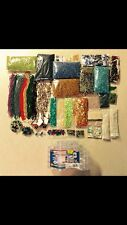 HUGE Wholesale lot of 6+ PDS Czech ? Seed Bugle Sequins assrted glass beadS misc