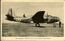 "AVIATION :Douglas ""Boston"" D B.7 Twin Engined Light Bomber- VALENTINES"