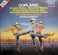 Copland: El Salon Mexico, Rodeo, Common Man (CD, London W Germany Import) Dorati