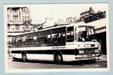 Postcard size Coach Photo - LRT Lothian 214: 1973 Duple Bedford YRT - Edinburgh