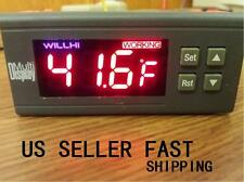 30A 220V Digital Temperature Controller  -58 to 230 Fahrenheit Sensor A195 US SE