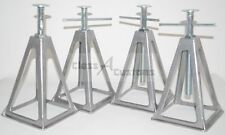 4 pk. 6,000 pound RV capacity stack stacker JACK STAND Pop-up camper stabilizer