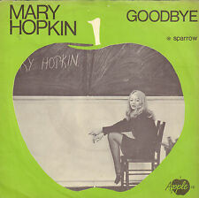 "MARY HOPKIN ‎– Goodbye (BEATLES APPLE LABEL SINGLE 7"" DUTCH PS)"