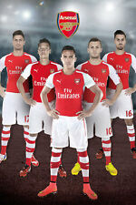 ARSENAL - 2015 PLAYERS POSTER - 24x36 FOOTBALL SOCCER TEAM 33958