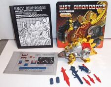 Transformers Justitoys WST Dinobot G1 DESERT WARRIOR SNARL Comic Book Giftset