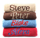 Personalised Towels -Gifts-11 Colours 100% Quality Egyptian Cotton Range 550Gsm
