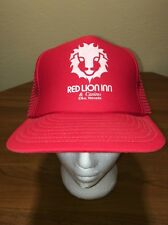 Red Lion Inn & Casino Elko, Nevada Meshback Snapback Hat Red