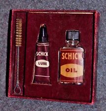 Schick Shaver Lube Oil & Brush Kit in Original Box