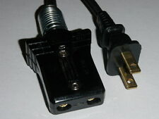 Power Cord for Manning Bowman Double Waffle Iron Article NO. 2525 (3/4 2pin)