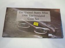 "1996 P & D Us Mint Set ""Only Year With a ""W"" Mint Mark Dime"" Unc Lot 165"