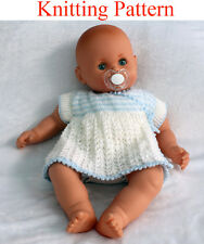 Knitting pattern for 18 - 22 inch doll dress